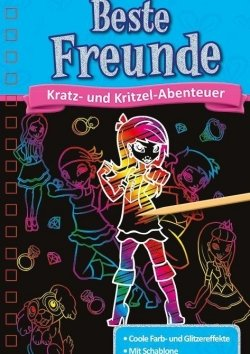 Kratzbuch: Beste Freunde