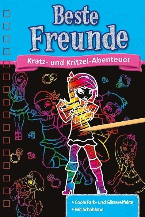 Kratzbuch Beste Freunde