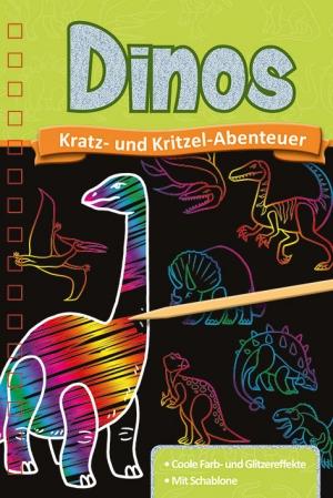 Kratzbuch: Dinos