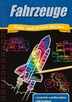 Kratzbuch: Fahrzeuge