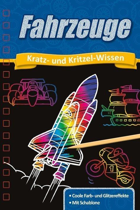 Kratzbuch Fahrzeuge