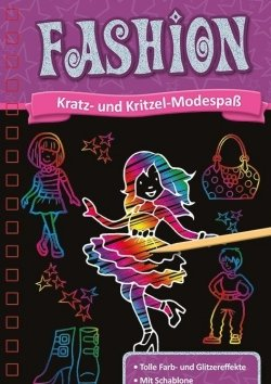 Kratzbuch: Fashion