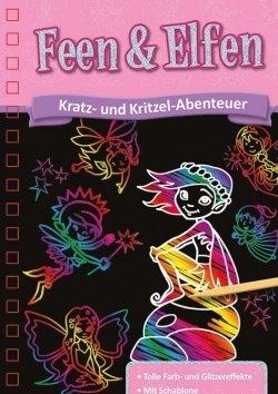 Kratzbuch: Feen & Elfen