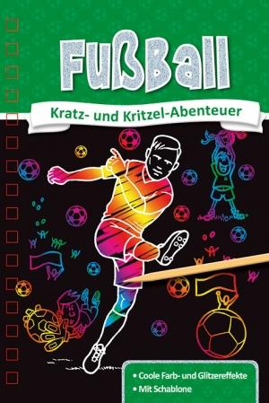 Kratzbuch: Fußball