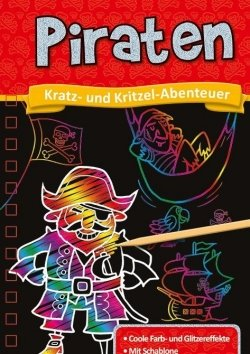Kratzbuch: Piraten