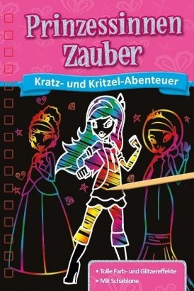 Kratzbuch: Prinzessinnen-Zauber