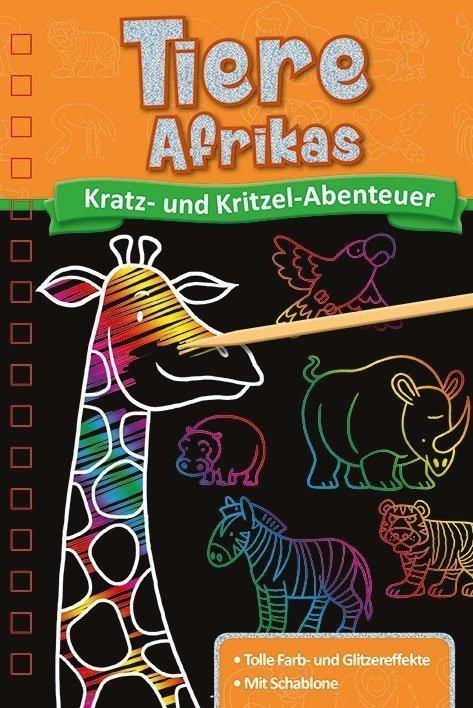 Kratzbuch Tiere Afrikas