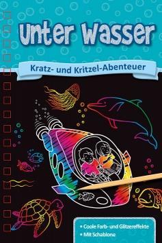 Kratzbuch: Unter Wasser