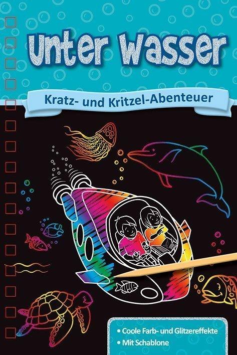 Kratzbuch Unter Wasser