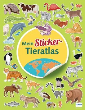 Mein Sticker-Tieratlas