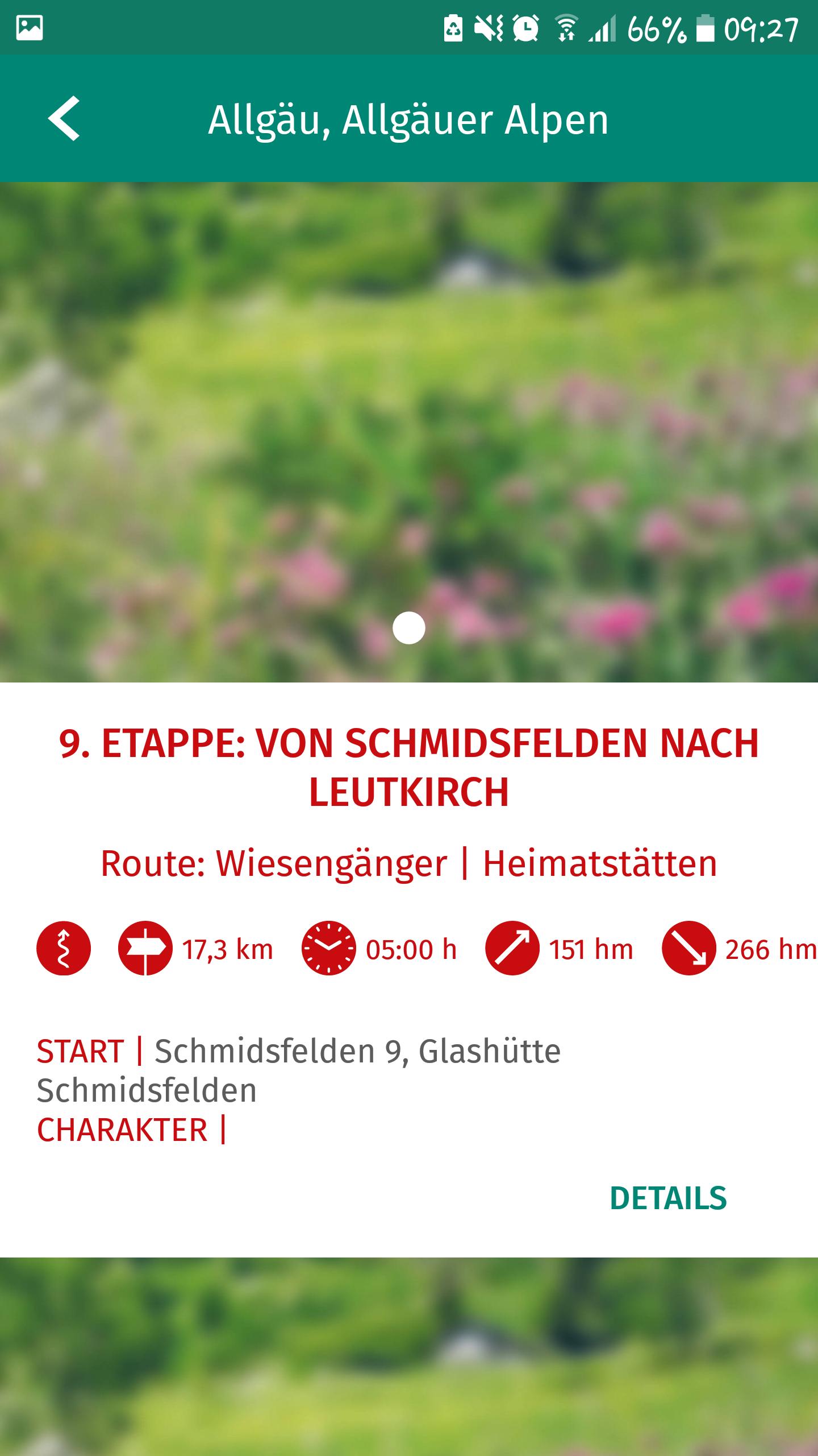 Kompass App - Karte speichern