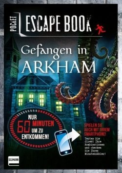 Pocket Escape Book – Gefangen in Arkham
