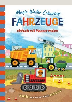 Magic Water Colouring – Fahrzeuge