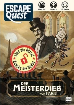 Escape Quest – Der Meisterdieb von Paris