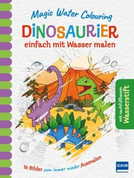 Magic Water Colouring – Dinosaurier