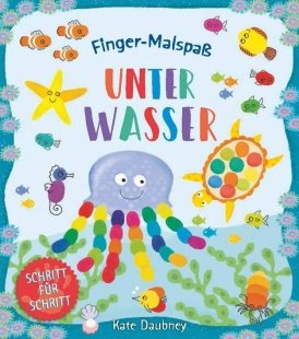 Finger-Malspaß: Unter Wasser