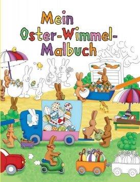 Mein Oster-Wimmel-Malbuch