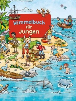 Wimmelbuch für Jungen