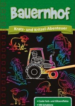 Kratzbuch: Bauernhof