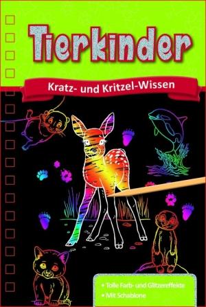 Kratzbuch: Tierkinder