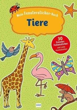 Mein Fenstersticker-Buch Tiere