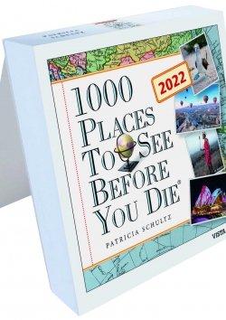 Tageskalender 2022 – 1000 Places To See Before You Die
