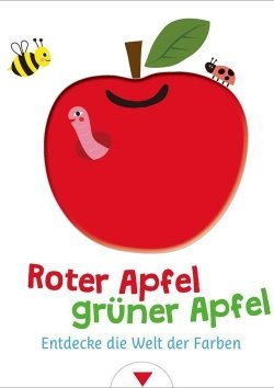 Roter Apfel, grüner Apfel