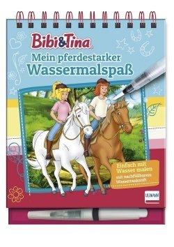 Bibi & Tina – Mein pferdestarker Wassermalspaß